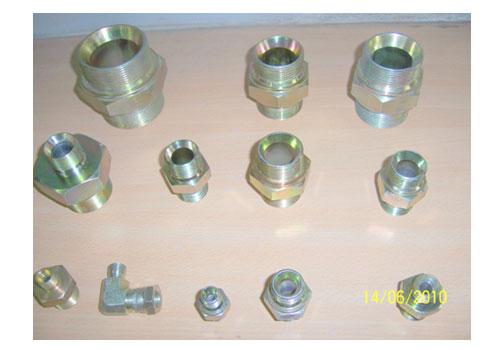 Hydraulic swivel adaptors reducer fittings